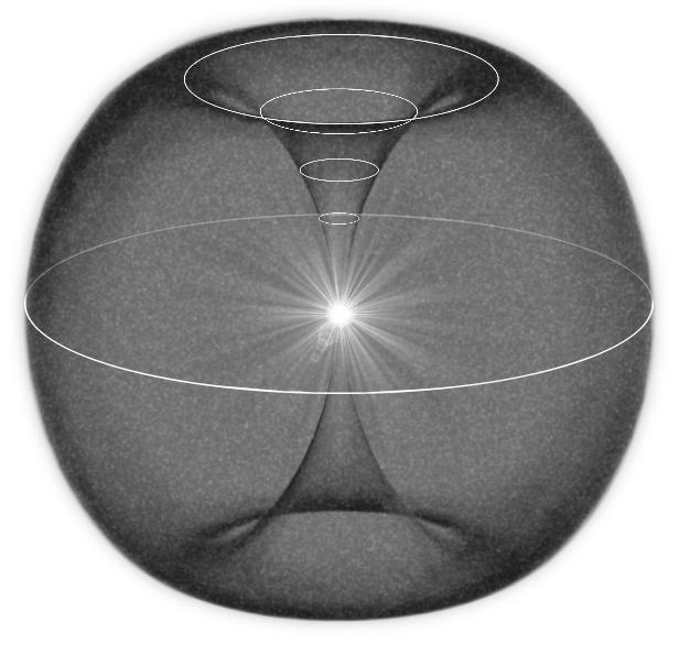 """Адаму - Пространство и время. Что это такое (Глава 1.3 из книги 2 """"Бумаги Вознесения"""") 4d_universe_latitudes"""